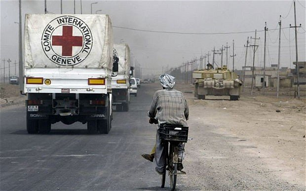 Gunmen have abducted six of the ICRC workers and one Red Crescent volunteer in north-west Syria