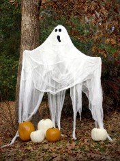 Halloween Cheesecloth Ghost
