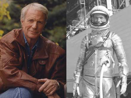 In 1962 Scott Carpenter became the second American to orbit the earth, piloting the Aurora 7 spacecraft through three revolutions of the earth