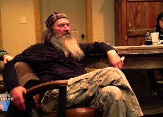 In an interview with Sports Spectrum TV earlier this year that's only recently gone viral, Phil Robertson admitted that fake bleeps were inserted into the show even though there was no cursing happening