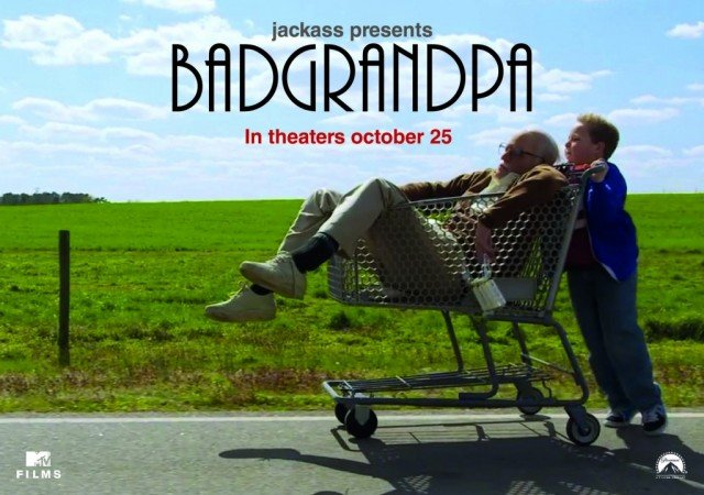 Jackass Presents: Bad Grandpa has topped this weekend's North American box office
