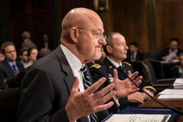 James Clapper told a Senate panel that an estimated 70 percent of intelligence workers had been placed on unpaid leave due to shutdown