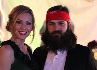 Jessica and Jep Robertson celebrated their 12th wedding anniversary
