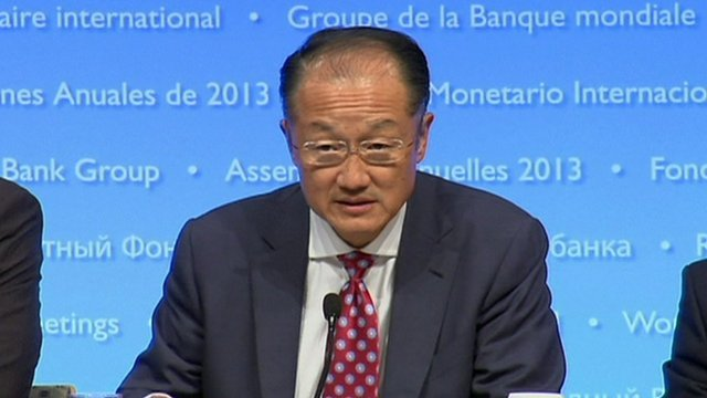 Jim Yong Kim urged US policymakers to reach a deal to raise the government's debt ceiling before Thursday's deadline