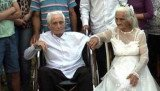 Jose Manuel Riella and Martina Lopez from Paraguay have got married in a religious ceremony after living together for 80 years