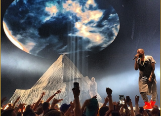 Kanye West kicked off his Yeezus tour on Saturday night in Seattle