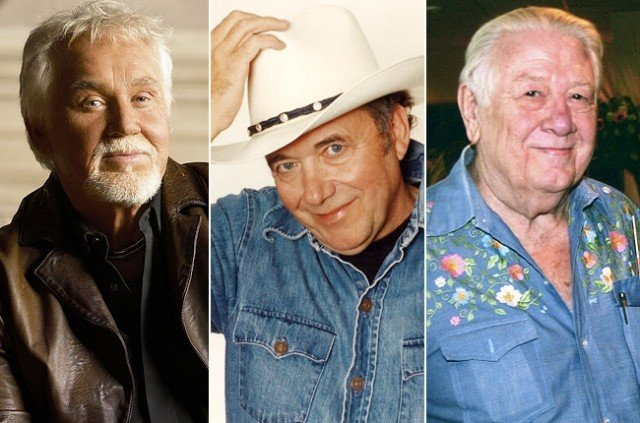 Kenny Rogers, Bobby Bare and the late Jack Clement joined the Country Music Hall of Fame at its museum in Nashville