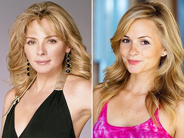Lindsey Gort is playing a young Samantha Jones in CW's The Carrie Diaries photo