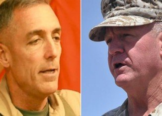 Maj. Gen. Charles Gurganus and Maj. Gen. Gregg A. Sturdevant did not take adequate force protection measures to stop a Taliban assault in 2012