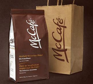 McDonald's will test selling a variety of packaged ground and whole bean coffee at supermarkets and other retail outlets starting next year photo