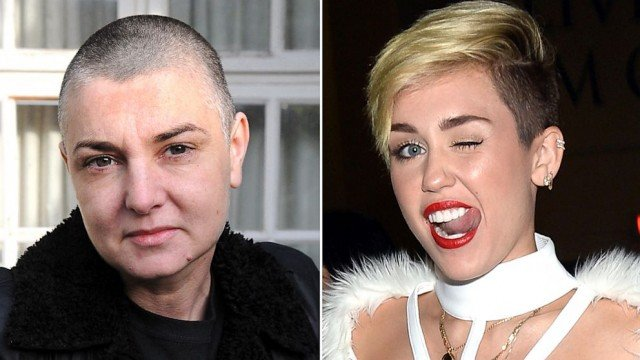 Miley Cyrus has hit back at Sinead O'Connor, after the Irish singer warned her not to be exploited by the music business
