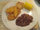 Mustard Fried Crappie