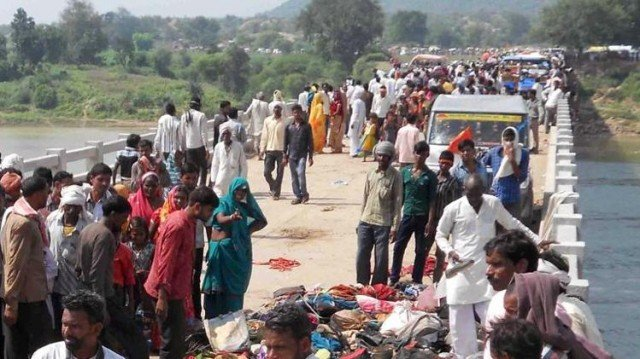 Navratri festival stampede death toll in Madhya Pradesh has risen to 109