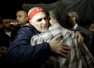 Nine Lebanese Shia pilgrims kidnapped by Syrian rebels in May 2012 have been released and arrived back in Beirut