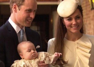 Prince George's christening has started at the Chapel Royal in London