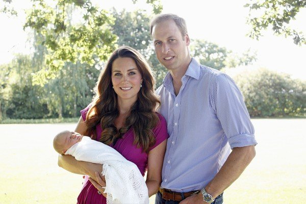 Prince George's christening will be a private and intimate family event