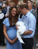 Prince William and Kate Middleton will bring their 3-month-old son before the Archbishop of Canterbury on Wednesday, October 23
