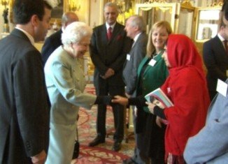 Queen Elizabeth and Prince Philip invited Malala Yousafzai to a reception at Buckingham Palace, where they met and chatted for a short time