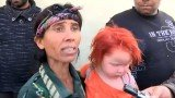 Sasha Ruseva spotted her daughter Maria on television after she was removed from a Roma camp in Greece last week