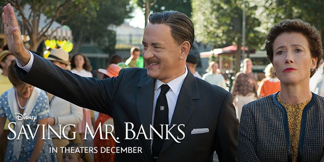 Saving Mr. Banks is a film about the long and difficult process of making the Disney musical Mary Poppins