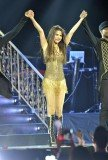 Selena Gomez took a nasty spill during her show at Patriot Center in Fairfax