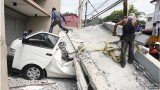 Several buildings and churches were damaged by the Philippines earthquake