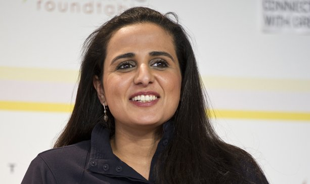 "Sheikha Al-Mayassa bint Hamad bin Khalifa Al-Thani came top of contemporary art magazine ArtReview's annual Power 100 due to ""her organization's vast purchasing power"""