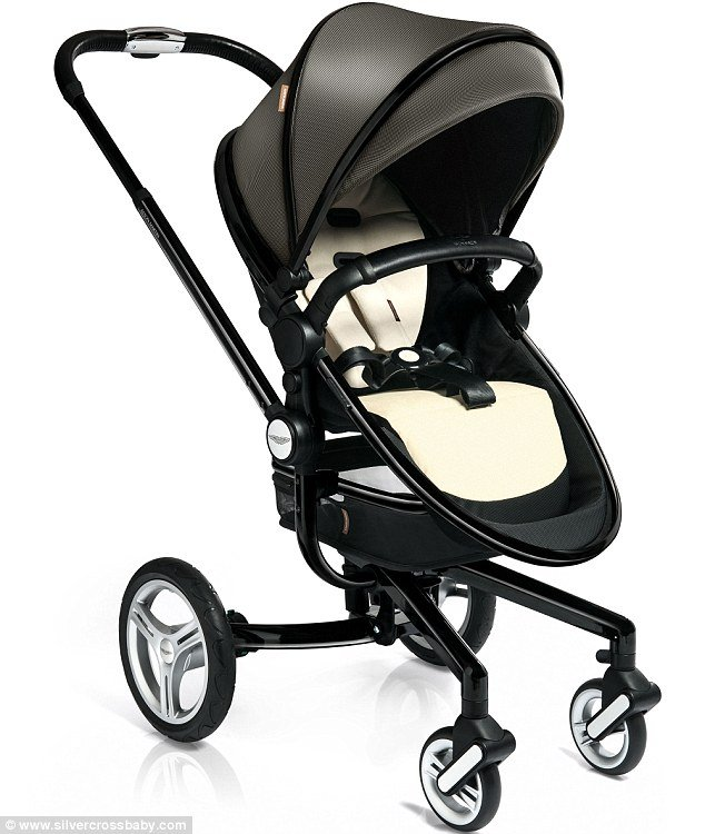 Surf Silver Cross Aston Martin Edition Baby Stroller On Sale At - Aston martin stroller