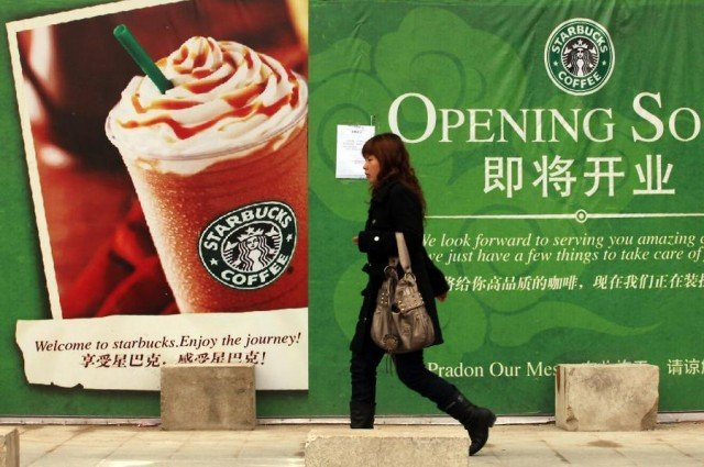 Starbucks has come under fire in China for reportedly charging locals higher prices than in other major markets