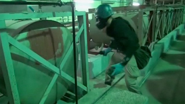 Syria's declared equipment for producing, mixing and filling chemical weapons has been destroyed