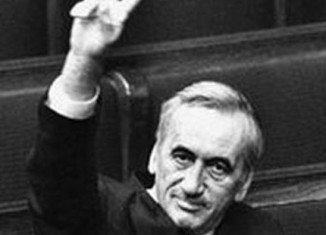 Tadeusz Mazowiecki was Poland's first prime minister after the fall of communism