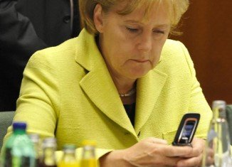 The US has been spying on Chancellor Angela Merkel's mobile phone since 2002