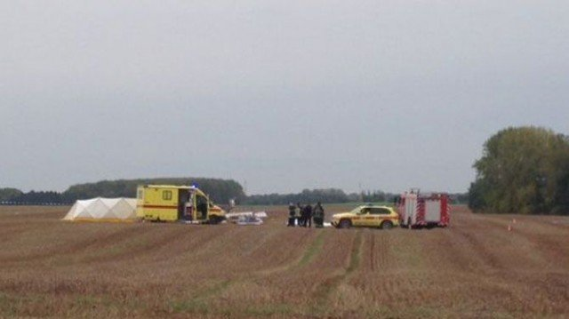 The plane was carrying a group of skydivers and crashed shortly after take-off, killing all on board