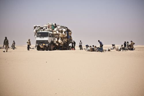 Thirty five migrants traversing the Sahara desert on their way to Europe have died of thirst in Niger