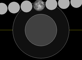 This year's final penumbral lunar eclipse is set to take place on Friday, October 18