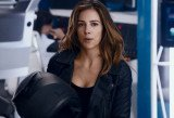 Tiffany Dupont as secret agent girl in Capital One commercials