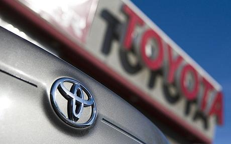 Toyota has decided to recall 885000 vehicles to fix a problem that could cause a water leak from the air conditioning unit photo
