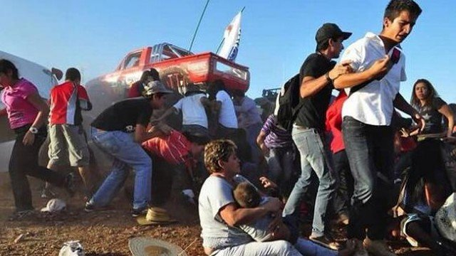 Two children were among the fatalities at the Extreme Airshow in the city of Chihuahua