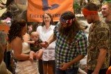 Two months ago, Willie Robertson surprised a couple at Field & Stream wedding in Pennsylvania