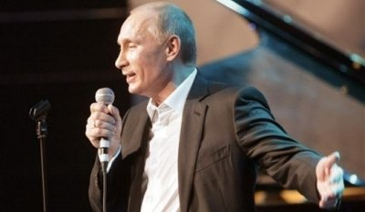 Vladimir Putin appeared on the Russian version of The Voice