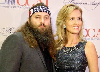 Willie Robertson and his wife Korie were in Washington DC for the annual Angels in Adoption gala