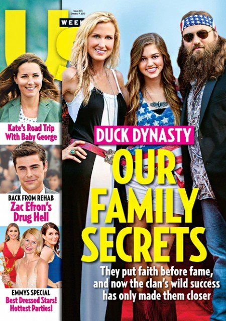 Willie and Korie Robertson open up about their family's fame, faith, and facial hair in a recent interview with Us Weekly