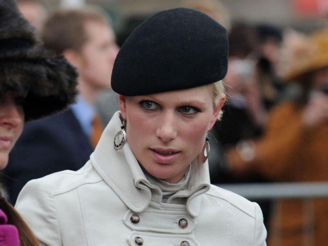 Zara Phillips is one of Prince George's seven godparents