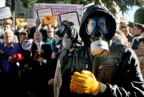 Albania will not allow the destruction of Syrian chemical weapons on its soil