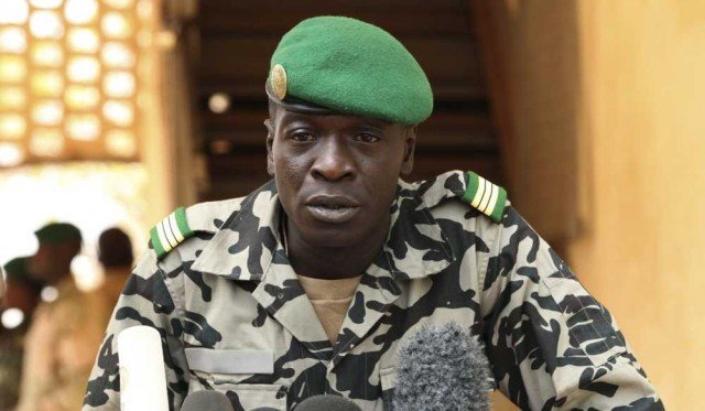 Amadou Sanogo was taken away in handcuffs from his home by about 25 armed soldiers for questioning