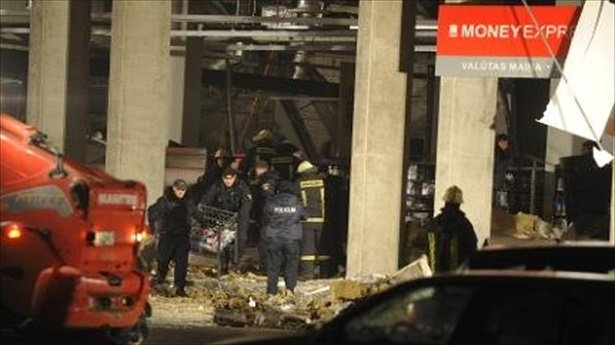 At least 32 people have died after the roof of a Maxima supermarket collapsed in Riga