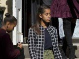 Barack Obama's elder daughter, Malia, is on Time magazine's list of 16 most influential teens of 2013