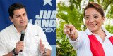 Both main candidates in the presidential election in Honduras are claiming victory