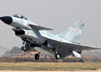 China has scrambled fighter jets over the disputed islands in East China Sea
