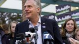 Democrat Terry McAuliffe beat Republican Ken Cuccinelli in a very close race for Virginia governor's seat